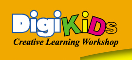 Digikids Creative Art & Craft Workshop Logo