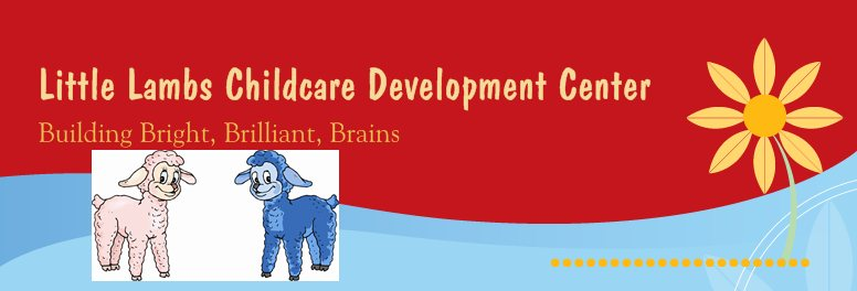 Little Lamb Child Care Development Center Logo