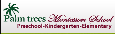 Palm Trees Montessori Logo